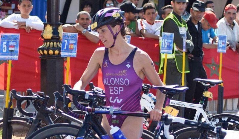 VÍDEO-resumen del Campeonato de España de Triatlón Sprint (élite femenino)