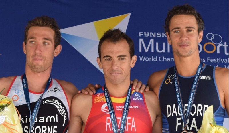 Rubén Ruzafa gana su cuarto Mundial ITU de Triatlón Cross