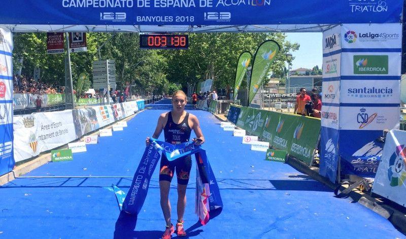 VÍDEO-resumen del Campeonato de España de Acuatlón (élite femenino)
