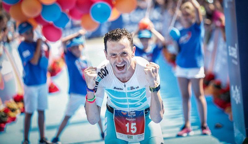 """Santamaría: """"En 2013  no dejé el triatlón por los buenos contratos que tenía"""""""