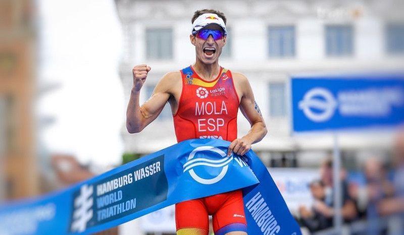 Remontada 'salvaje' de Mario Mola para volver a ganar en Hamburgo