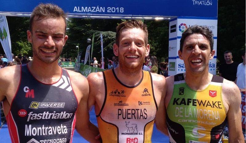 Rocío Espada y Camilo Puertas, campeones de España de Duatlón Cross