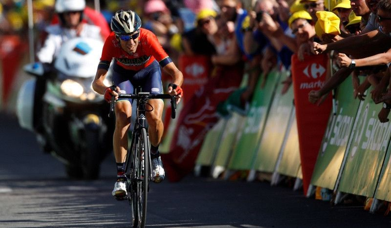 (VÍDEO) Nibali abandona el Tour con una fractura en la décima vértebra