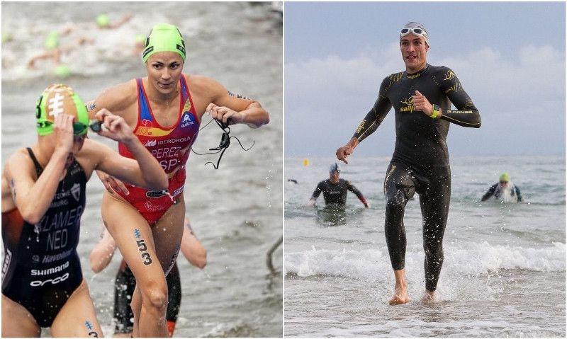 Volumen de profesional: ¿cuánto entrena en el agua un triatleta élite?