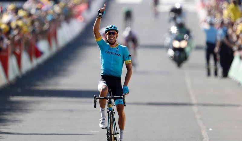 (VÍDEO) Omar Fraile consigue la primera victoria española en el Tour desde la edición de 2016