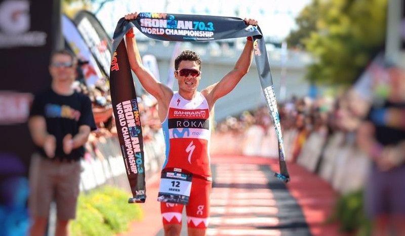 Noya confirma que defenderá el título en el Mundial Ironman 70.3