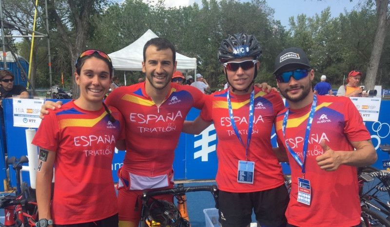 (VÍDEO) España, eliminada de la prueba de Relevos Mixtos de Edmonton