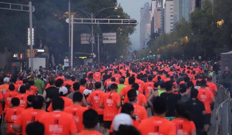 Mueren dos atletas en la media maratón de Ciudad de México