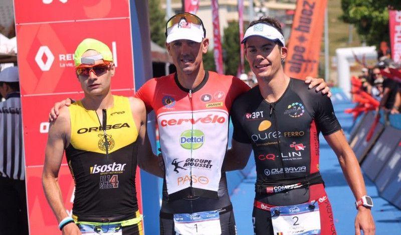 Albert Moreno, 2º en el Alpe d'Huez Triathlon