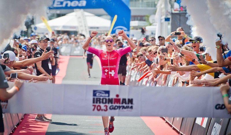Daniela Ryf hace la mejor marca de la historia en Ironman 70.3