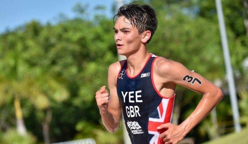 El joven triatleta británico Alex Yee, 14º en el 10.000 del Europeo de Atletismo