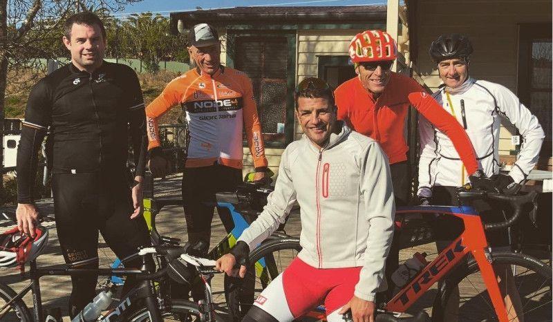 Terenzo Bozzone vuelve a subirse a la bici