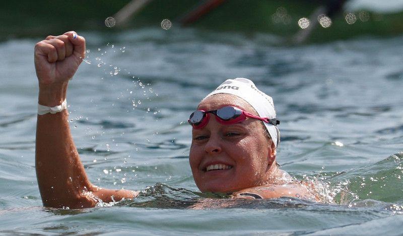 La 'Ironwoman' de las aguas abiertas pierde su cuarto oro en los 25 km por una décima