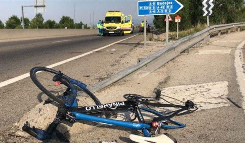 Herido grave un ciclista tras ser atropellado por un turismo en Las Rozas
