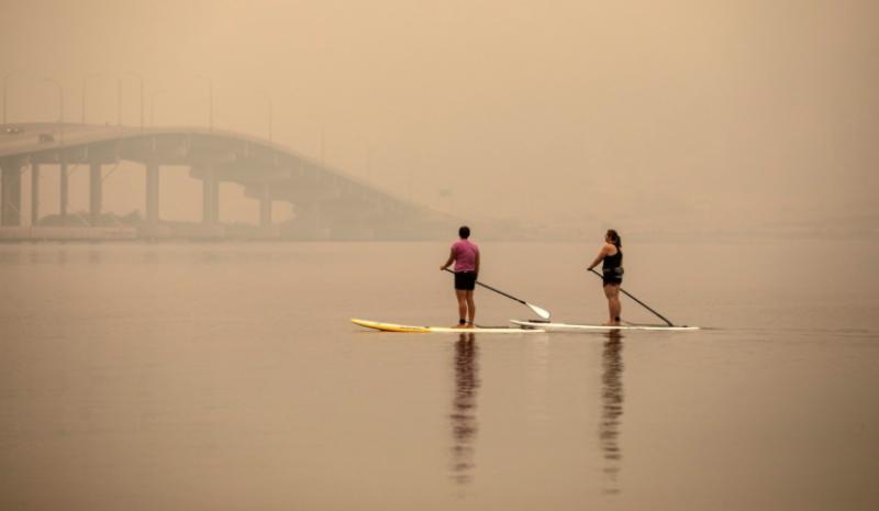 Los incendios obligan a cancelar la última prueba clasificatoria de la Super League Triathlon