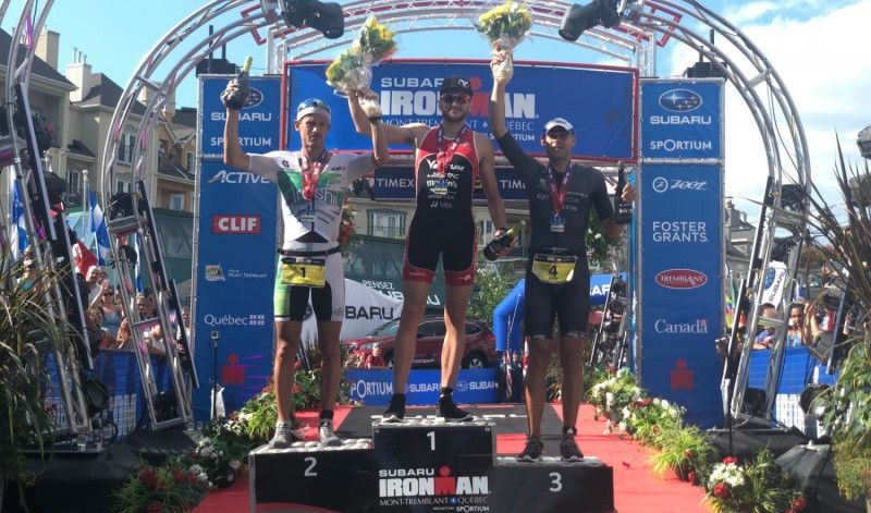 Un debutante en Ironman derrota a Lionel Sanders en Mont Tremblant