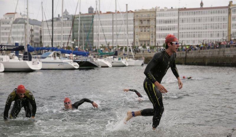 """El Ayuntamiento de A Coruña """"se lía"""" con el Campeonato de España de Triatlón"""