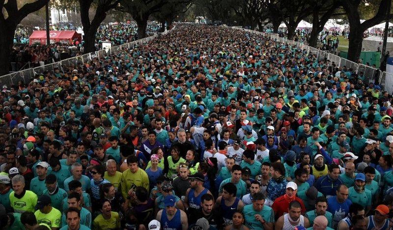 Muere un atleta en el medio maratón de Buenos Aires
