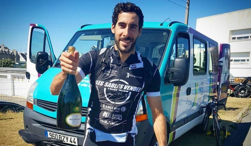 """(VÍDEO) 'Chente' Hernández, 3º en el GP de Quiberon: """"La carrera que necesitaba"""""""