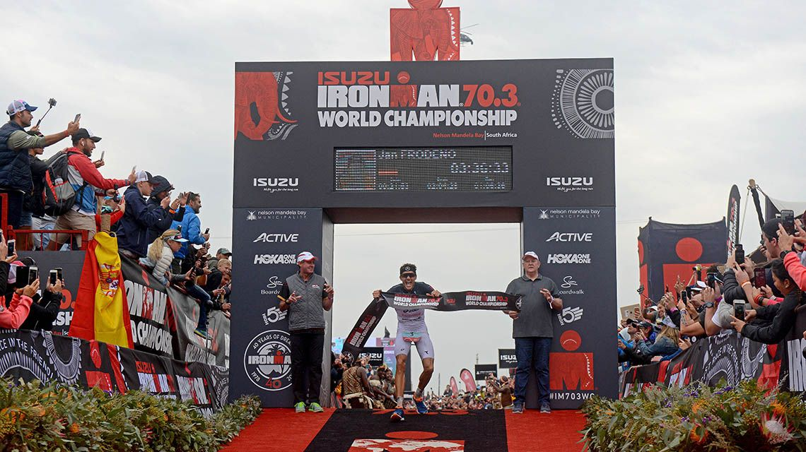 Mundial Ironman 70.3 Sudáfrica 2018