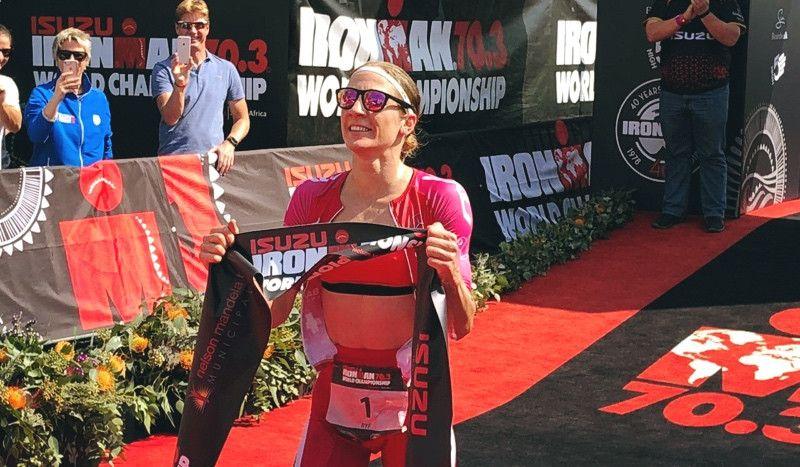 Daniela Ryf vuelve a ganar el Mundial Ironman 70.3 y alcanza su primer 'póquer'