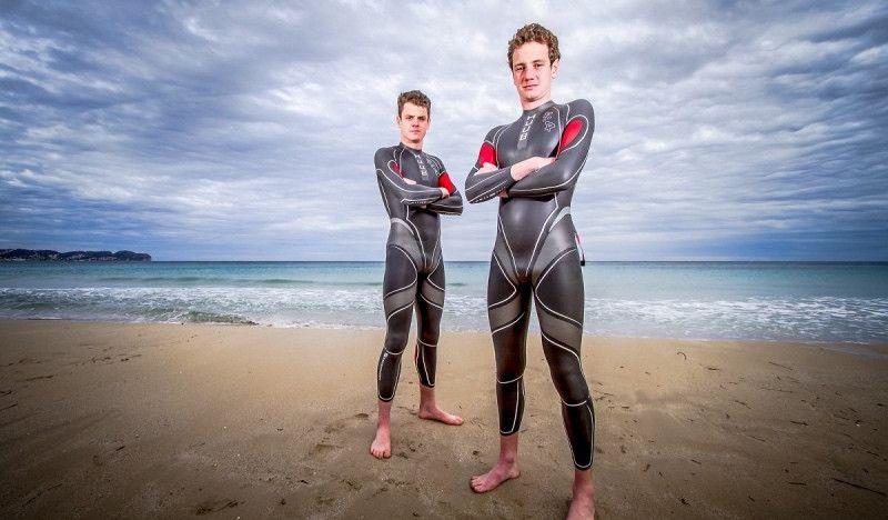 (VÍDEO) El entrenamiento de natación del día 'fácil' de los Brownlee