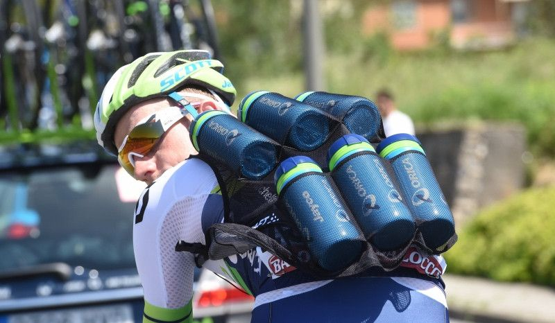 Entrenamiento de ciclismo con lastre