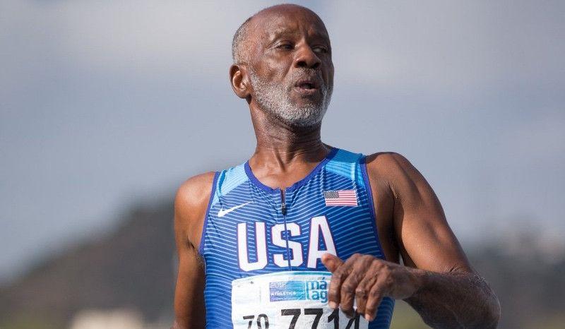 Un atleta estadounidense de 71 años corre el 400 en 57 segundos