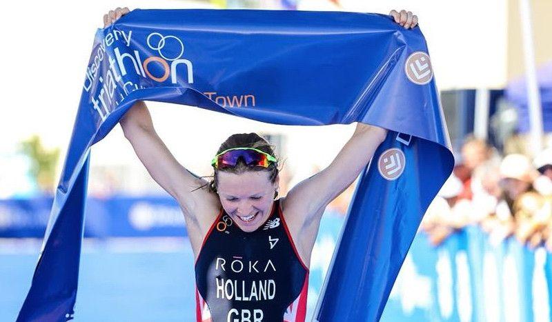 La británica Vicky Holland se proclama campeona del mundo en Gold Coast
