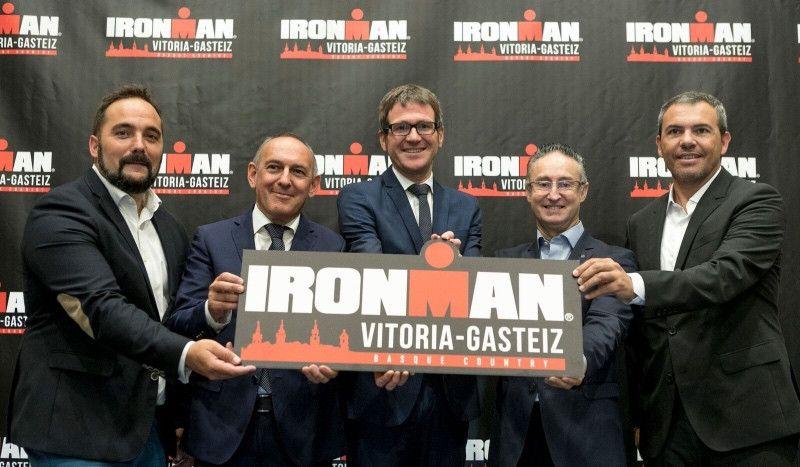 El Triathlon Vitoria se convierte en Ironman y se disputará el 14 de julio de 2019