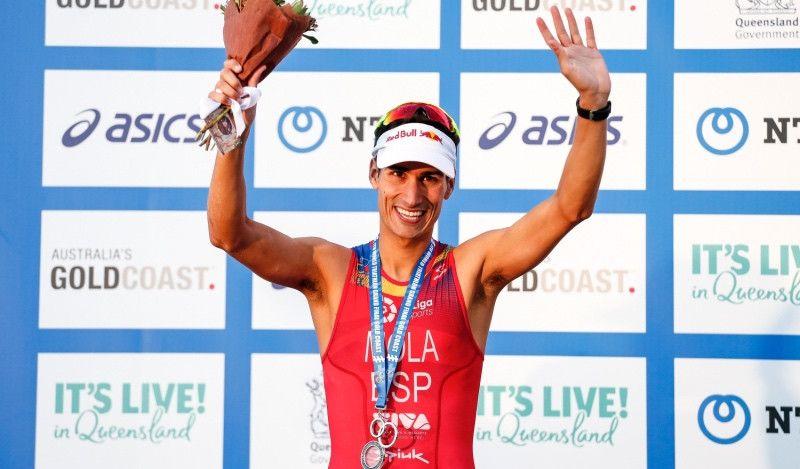 Mario Mola conquista su tercer Mundial consecutivo en Gold Coast