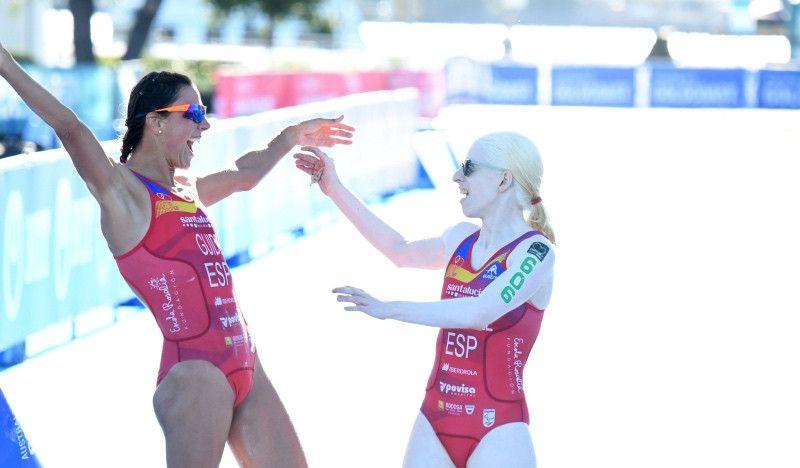 España logra cuatro medallas en el Mundial de Paratriatlón de Australia