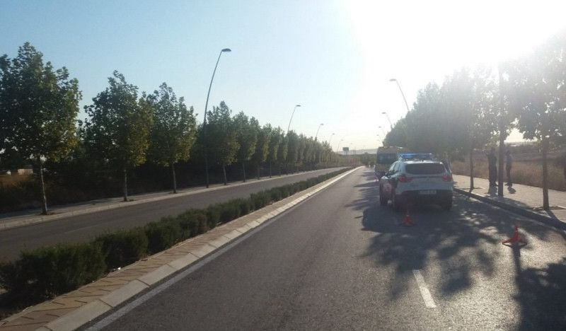 Fallece el ciclista que fue atropellado en Getafe