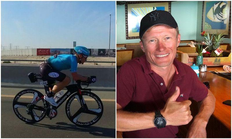 """(VÍDEO) Vinokourov, con las ideas claras para Kona: """"En la bici no he venido a divertirme"""""""