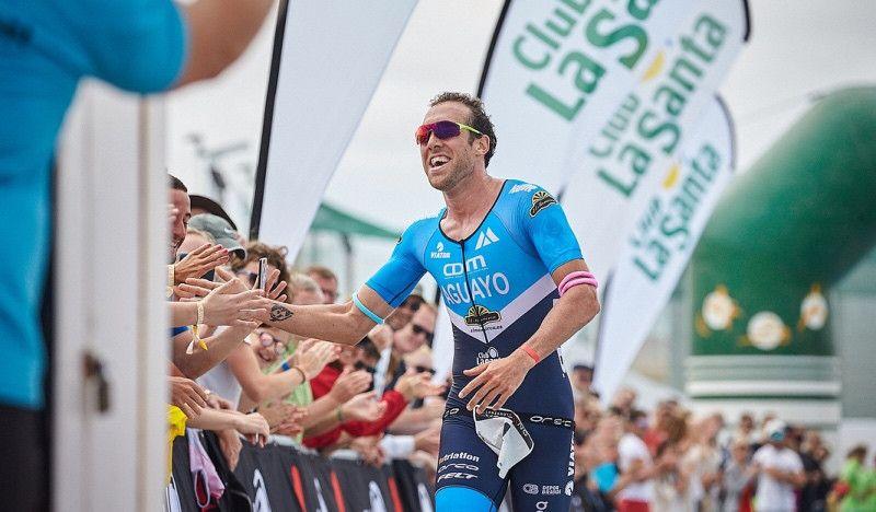 Emilio Aguayo, otra vez plata en el Ironman 70.3 de Lanzarote