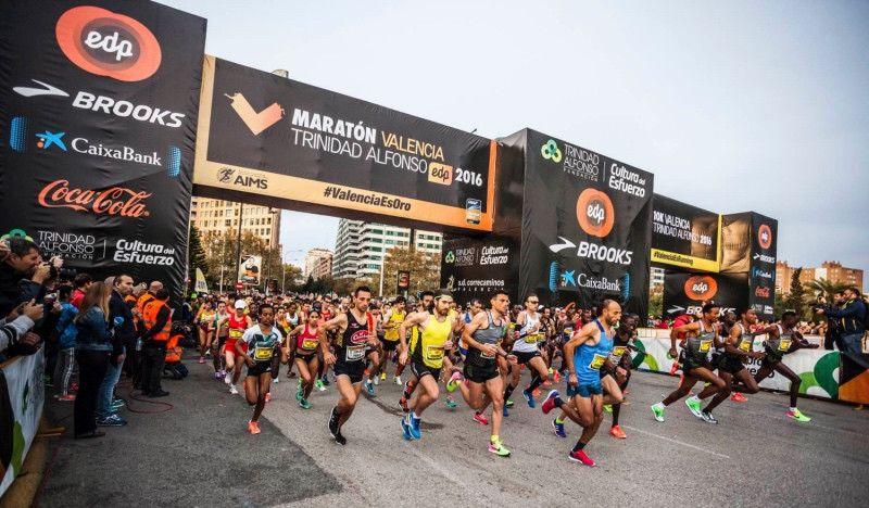 El medio maratón y el maratón de Valencia baten su récord de inscritos