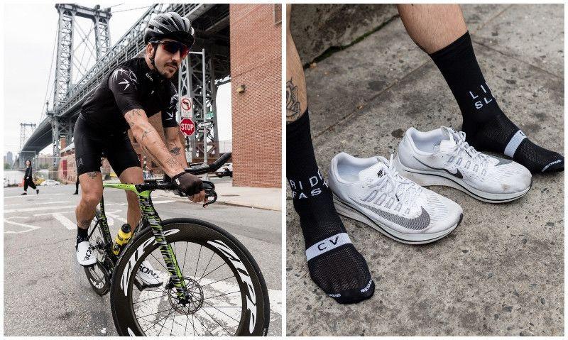 El nuevo calcetín de César Villalba y Sporcks para luchar contra la leucemia infantil