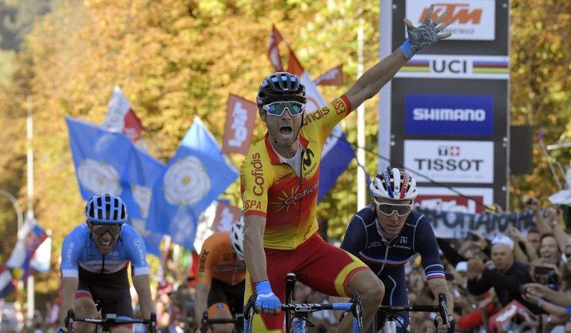 Valverde se hace con su oro más buscado