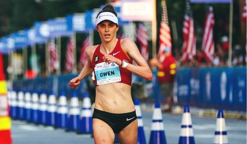 Gwen Jorgensen, 11ª en el maratón de Chicago