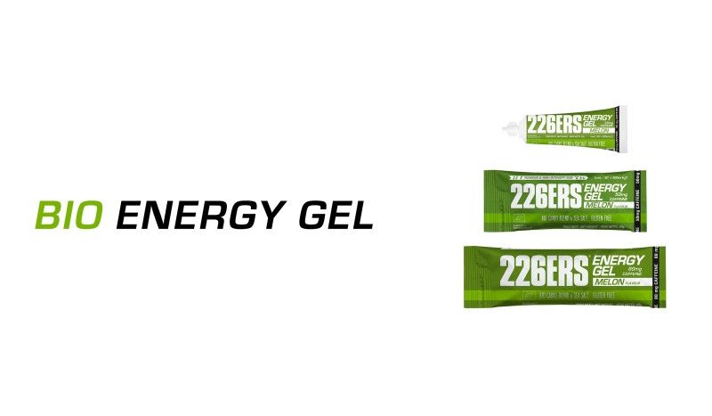 226ERS lanza nuevo formato en stick para sus BIO Energy Gel de 25 g