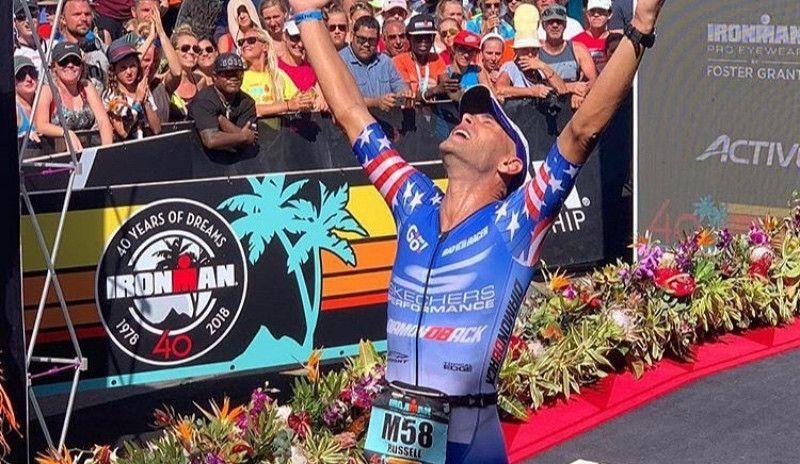 Matt Russell, 6º en Kona un año después de ser atropellado en plena competición