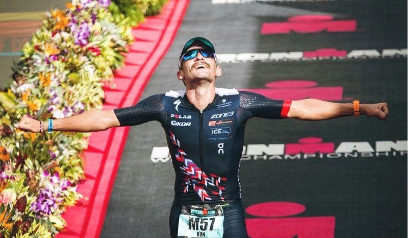 """""""Final feliz"""" para la epopeya de Tim Don: 36º en su regreso a Hawaii un año después de romperse el cuello"""