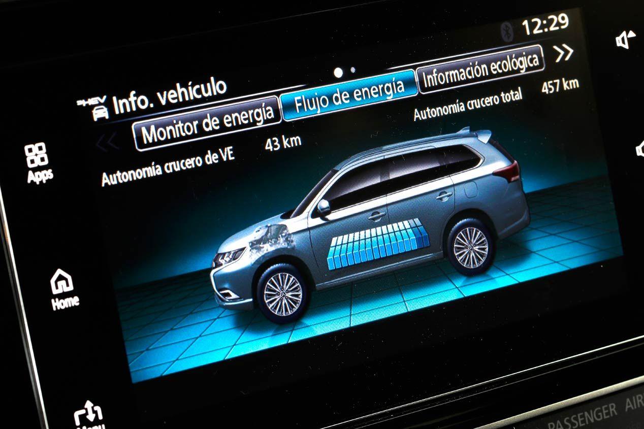 Mitsubishi Outlander PHEV, el coche 0 emisiones