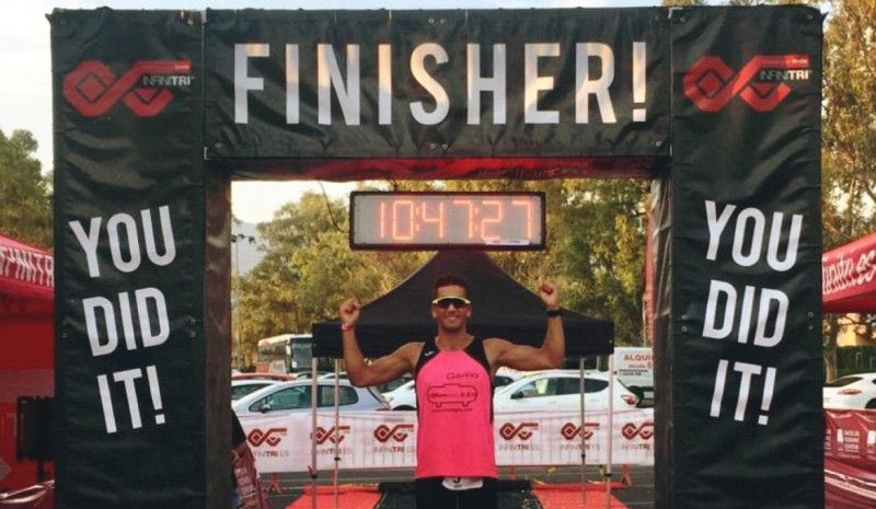 Un triatleta español ya es, con 20 años, el 'Ultraman' más joven de Europa