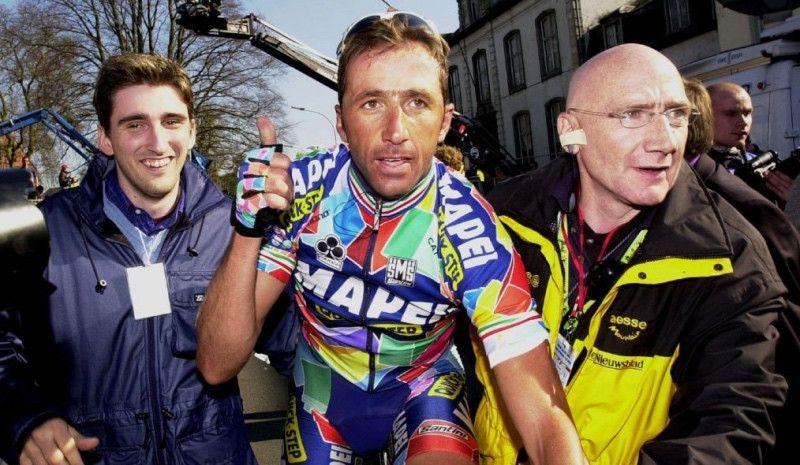 Andrea Tafi quiere correr la París-Roubaix a los 52 años