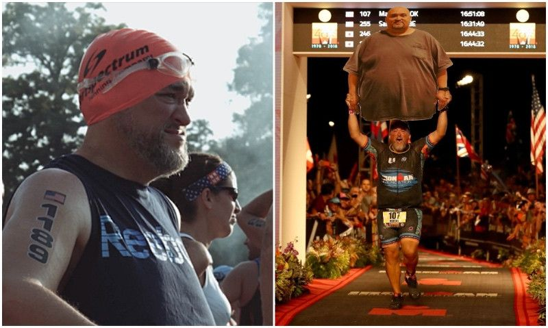 De pesar 220 kilos... a 'finisher' del Ironman de Hawaii