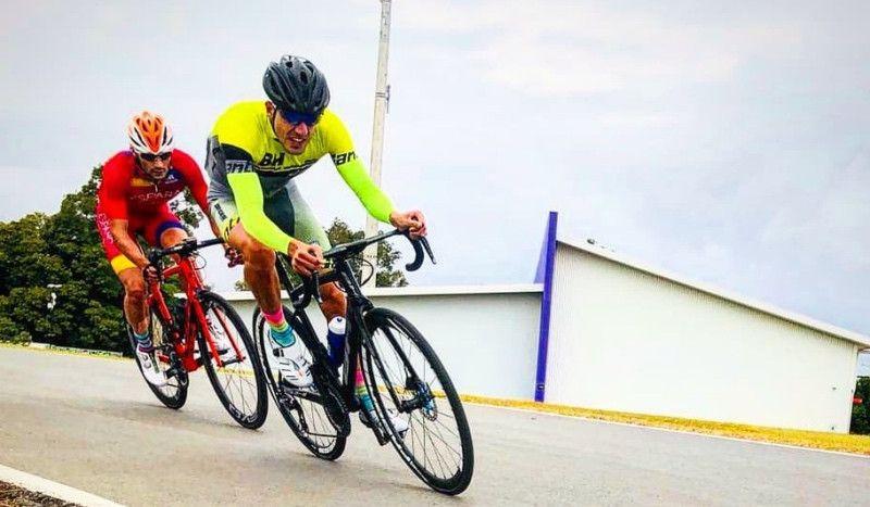 Alarza recupera la bici y el resto del material a tiempo para el Challenge Peguera