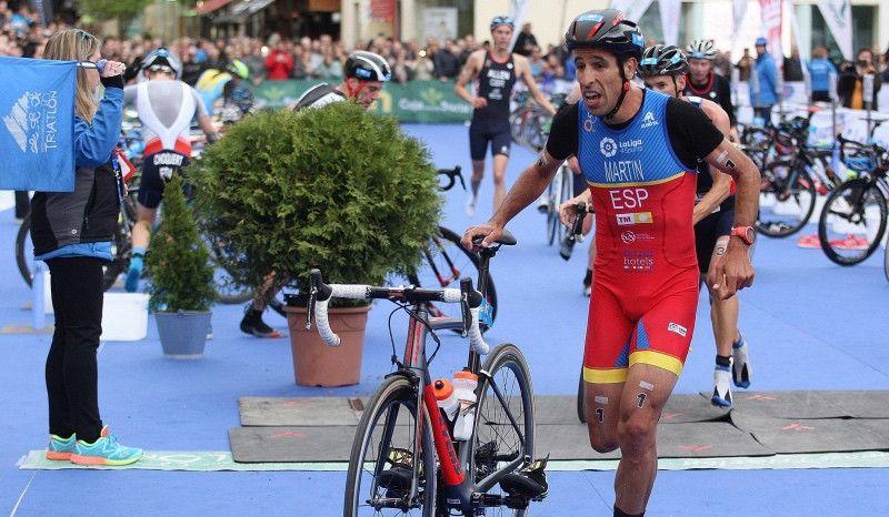 Emilio Martín se siente fuerte para defender su título europeo en Ibiza
