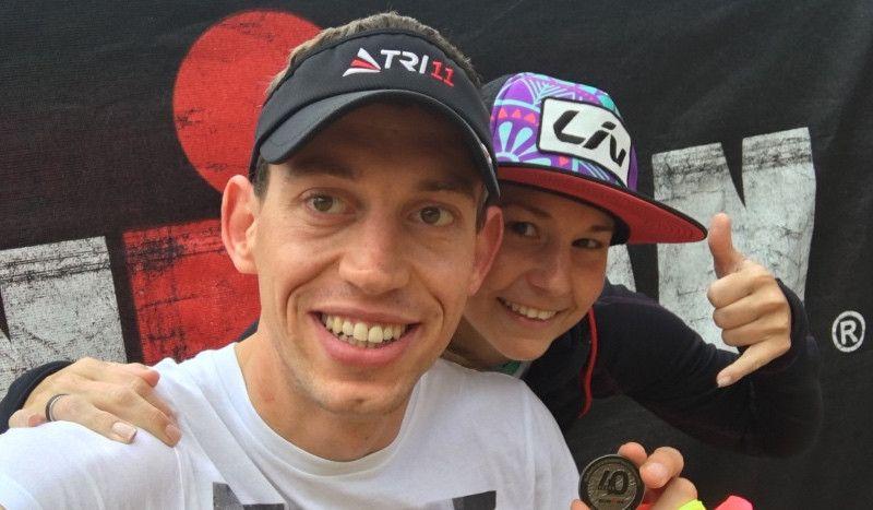 El matrimonio 'finisher' del Ironman de Hawaii