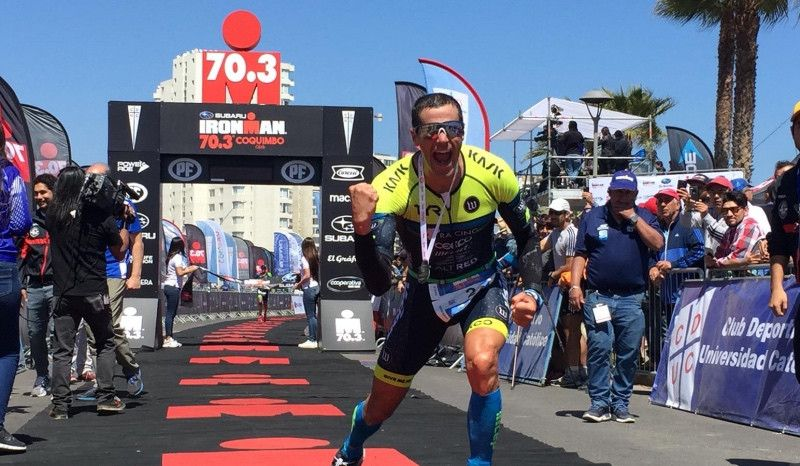Andy Potts gana un 70.3 en Chile una semana después de acabar 8º el Ironman de Hawaii